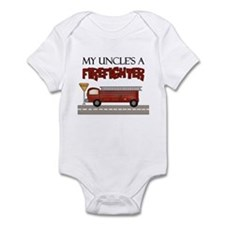 My Uncle's A Firefighter Infant Bodysuit