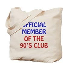 90th Birthday Official Member Tote Bag