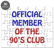 90th Birthday Official Member Puzzle