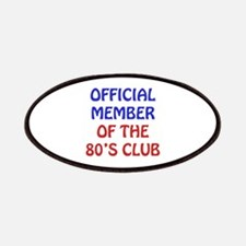 80th Birthday Official Member Patches