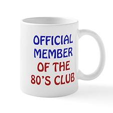 80th Birthday Official Member Mug