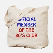 80th Birthday Official Member Tote Bag