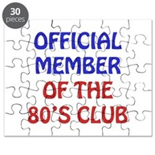 80th Birthday Official Member Puzzle