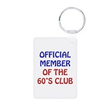 60th Birthday Official Member Keychains