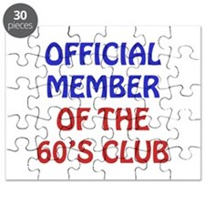 60th Birthday Official Member Puzzle