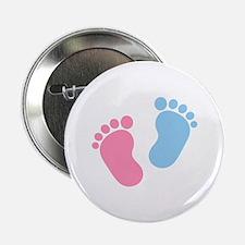 """Baby feet 2.25"""" Button"""
