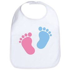 Baby feet Bib