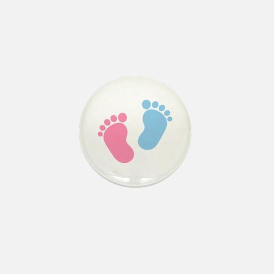 Baby feet Mini Button (10 pack)