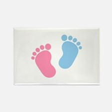 Baby feet Rectangle Magnet (100 pack)
