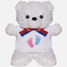 Baby feet Teddy Bear