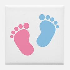 Baby feet Tile Coaster