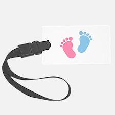 Baby feet Luggage Tag