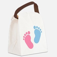 Baby feet Canvas Lunch Bag