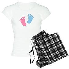 Baby feet pajamas
