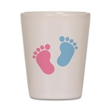 Baby feet Shot Glass