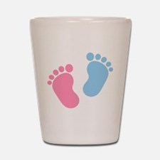 Baby feet Shot Glass