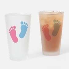 Baby feet Drinking Glass