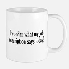 Job Description Mug