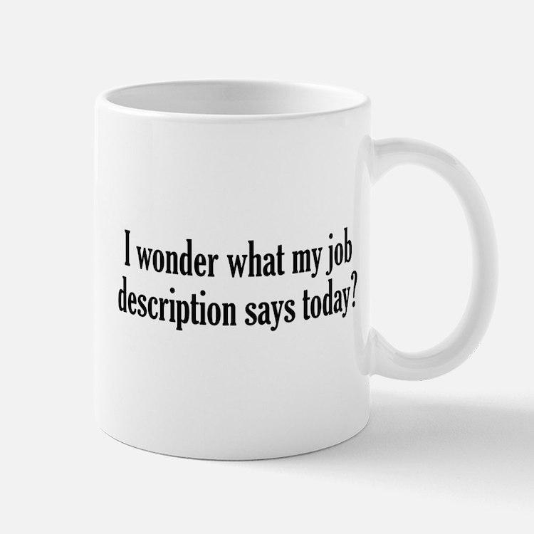 Job Description Mug