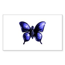 Purple Buttterfly Design Decal