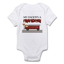 My Daddy's A Firefighter Infant Bodysuit