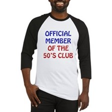50th Birthday Official Member Baseball Jersey