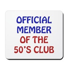 50th Birthday Official Member Mousepad