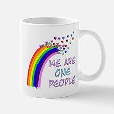 We Are One People Mug