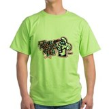 Graffiti spray can youve been tagged Green T-Shirt