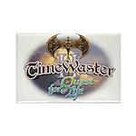 TIMEWASTER II Gamer Widow Rectangle Magnet (100 pa