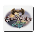 TIMEWASTER II Gamer Widow Mousepad