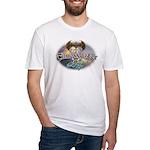 TIMEWASTER II Gamer Widow Fitted T-Shirt