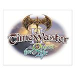 TIMEWASTER II Gamer Widow Small Poster