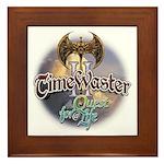 TIMEWASTER II Gamer Widow Framed Tile