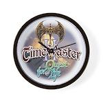 TIMEWASTER II Gamer Widow Wall Clock