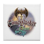 TIMEWASTER II Gamer Widow Tile Coaster