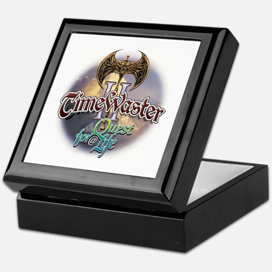 TIMEWASTER II Gamer Widow Keepsake Box