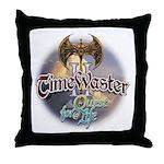 TIMEWASTER II Gamer Widow Throw Pillow