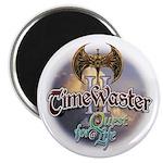 TIMEWASTER II Gamer Widow Magnet