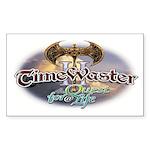 TIMEWASTER II Gamer Widow Rectangle Sticker