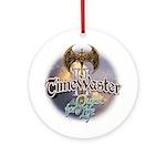 TIMEWASTER II Gamer Widow Ornament (Round)