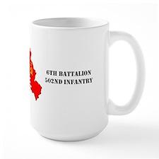 BBDE 6BN 502nd IN Mug