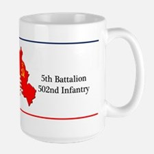 BBDE 5BN 502nd IN Large Mug