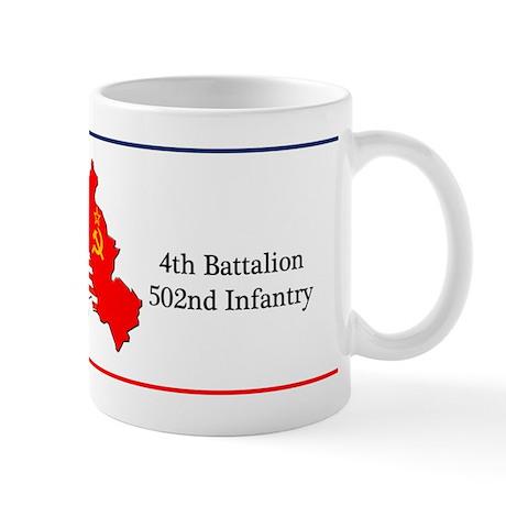 BBDE 4BN 502nd IN Mug