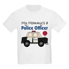 My Mommy's A Police Officer Kids T-Shirt