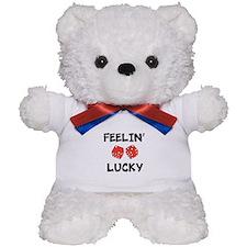 FEELIN LUCKY Teddy Bear