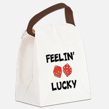 FEELIN LUCKY Canvas Lunch Bag