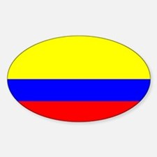 Colombia Flag Rectangle Decal