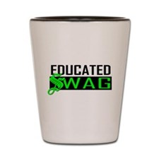 Educated Swag 2 Shot Glass