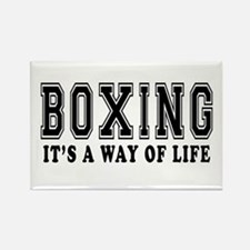 Bowling It's A Way Of Life Rectangle Magnet